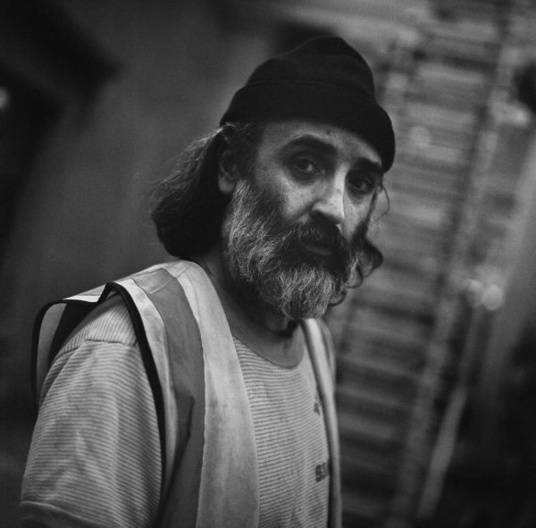 Mike Nelson photographed by Alex Schneideman, London 14/3/19