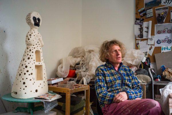 Grayson Perry in his Studio