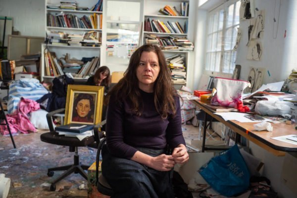 Chantal Joffe photographed by Alex Schneideman