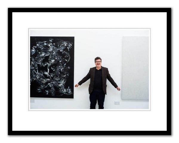 Mark Wallinger photographed by Alex Schneideman, London 7/2/19