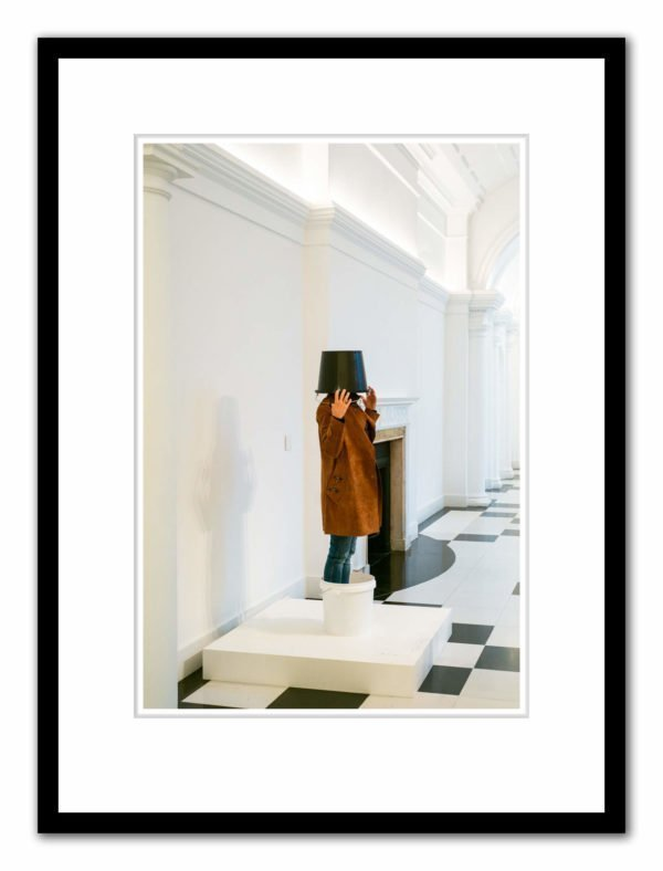 Galerie Thaddaeus Ropac, Mayfair; Erwin Wurm exhibition, Photographed by Alex Schneideman, 2019 and included in the book, Art London by Hettie Judah for ACC Art Books, 2019