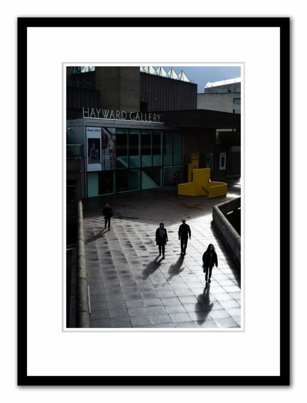 The Hayward Gallery, photograph by Alex Schneideman and included in the book, Art London by Hettie Judah for ACC Art Books, 2019