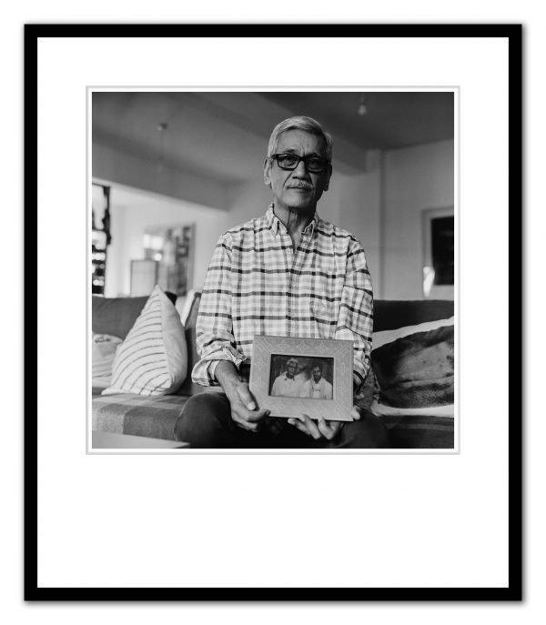 Sunil Gupta photographed by Alex Schneideman, London 28/3/19